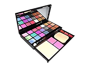 Kiss Beauty make-up kit 21 eyeshadow,2blusher,1compact and 3lip color