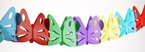 Hungry Caterpillar Birthday Party Schmetterling Garland 1 Packung