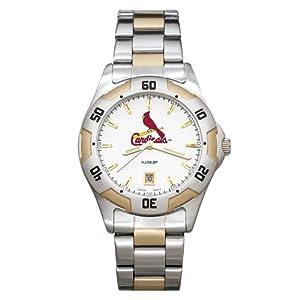 MLB St. Louis Cardinals Mens All-Pro Sports Watch by Logo Art
