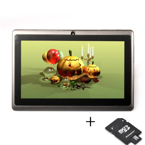 Tablet PC (Allwinner A13 1,2 GHZ + GPU Mali 400 MP) 512MB DDR3 + 8GB