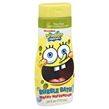 Nickelodeon Bubble Bath, Sponge Bob Squarepants, Wacky Watermelon, 24 fl oz (710 ml)