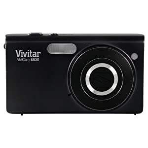 Vivitar S830 Vivicam 16.1 MP Digital Camera with 8x Optical Image Stabilized Zoom 3