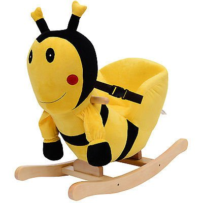 Baby Kids Toy Plush Rocking Horse Style Bumblebee Theme Chair Seat Rocker (Baby Bumble Seat compare prices)