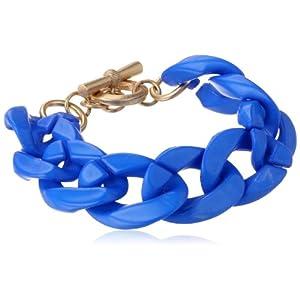 Blue Resin Link Bracelet, 4