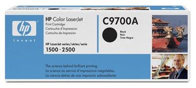 Hewlett packard toner pour hP color laserjet 1500N (c9700A) cartouche de toner d'origine noir
