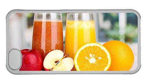 Cheap Iphone Case Online Cover Nutritious Juice Apples Oranges Pc Transparent For Apple Iphone 5C front-992734