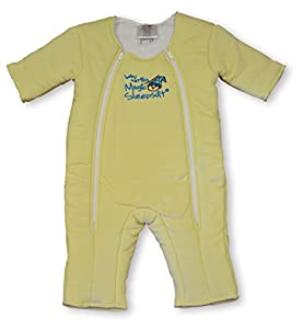 Baby Merlin's Magic Sleepsuit 3-6 months - Yellow Cotton