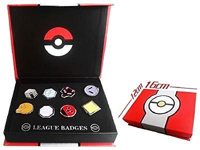 Pokemon Gym Badges set of 8PCS