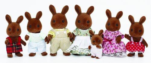 Sylvanian Families Celebration Brown Rabbit Family tt03 sylvanian families mouse family 4pcs parents