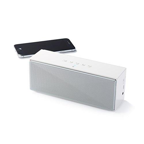 AmazonBasics Portable Bluetooth Speaker - White