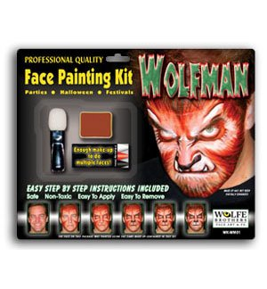 WolfMan Face Painting Kit - 1