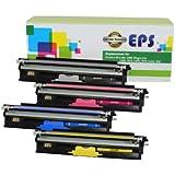 EPS Konica Minolta Magicolor 1600W, 1680MF, 1690MF High Quality,High Yield Pack of 4 Remanufactured toner cartridges(A0V30HF,A0V30CF,A0V306F,A0V301F)