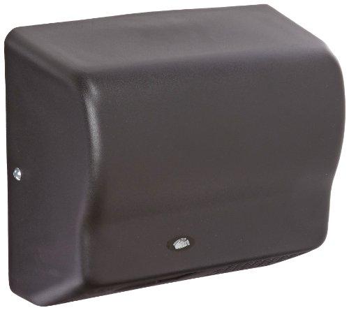 American Dryer Global Gx1-Bg Steel Cover Automatic Hand Dryer, 110-120V, 1,500W Power, 50/60Hz, Black Graphite Finish