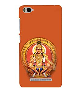 printtech Lord Murugan South India Back Case Cover for Xiaomi Redmi MI 4C::Xiaomi Mi 4C