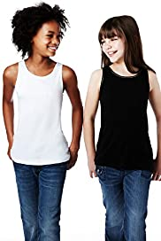 2 Pack Pure Cotton Assorted Vest Tops