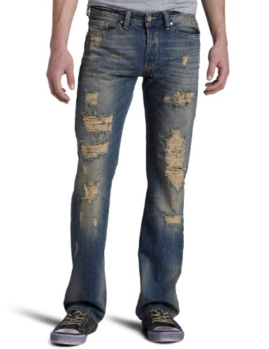 Brand New Diesel Viker 8A7 Mens Jeans, 008A7, Regular Fit Straight Leg (34 x 32)