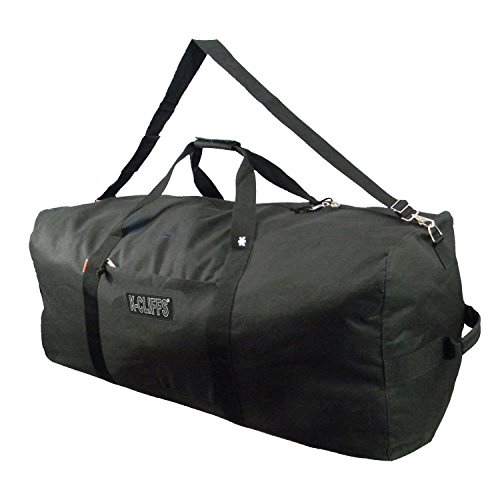 Heavy Duty Large Square Cargo Duffel Jumbo Gear Bag 36 inch Big Equipment Ball Gym Bag Sport Duffle Travel Bag Rooftop Rack Bag Roofbag