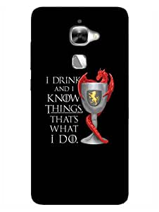 LeEco Le 2 Back Cover - Game Of Thrones - Tyrion - Designer Printed Hard Shell Case