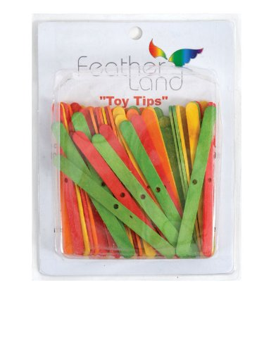 Paradise Popsicle Sticks Bird Toy