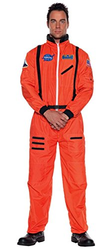 Astronaut Orange Costume