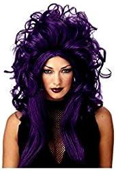 Wig Sorceress Black Purple