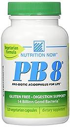 PB 8 ProBiotic Acidophilus Vegetarian - 120 - VegCap
