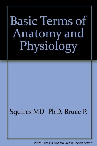 Basic Terms of Anatomy and Physiology