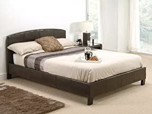 Snuggle Beds Natalie in Brown Double Bed Frame