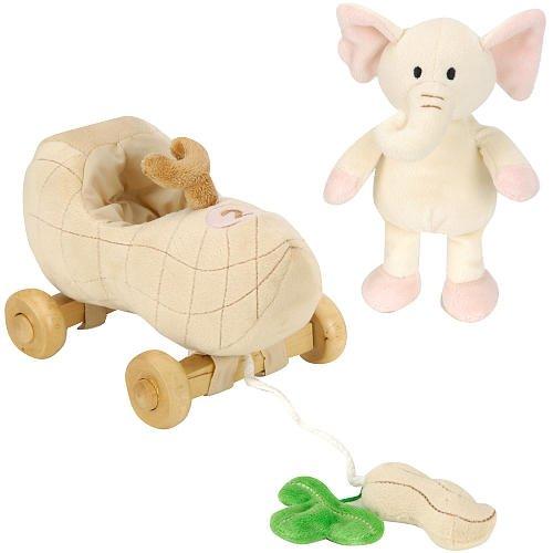 FAO Schwarz Baby Elephant Pull Toy - 1