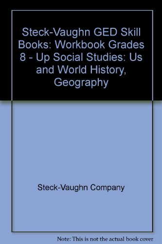 GED Skill Books: Workbook Social Studies: US and World...