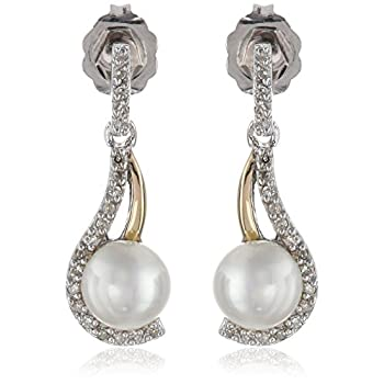 Alina White 8-9mm AAA Quality Freshwater 925 Sterling Silver Cultured Pearl Pendant For Women