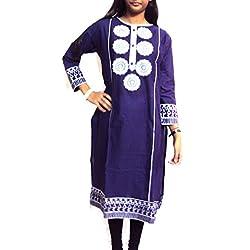 Mohfashions Women's Cotton Kurtis
