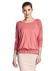 Roxy Women's Plain Top (ARJKT03157_Slate Rose_Medium)