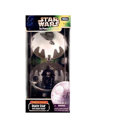 Star Wars: Power of the Force Complete Galaxy Death Star with Darth Vader Playset