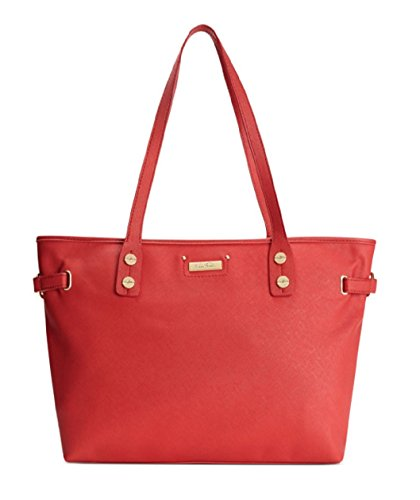 Marc Fisher Day by Day Horizontal Tote Bag Handbag, Red (Marc Fisher Day By Day Bag compare prices)