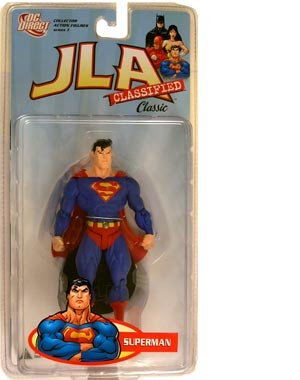 Picture of DC Comics Justice League of America Classified: Classic Superman Action Figure (B001DN2KA6) (Superman Action Figures)
