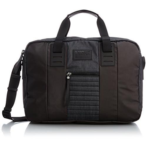 [ディーゼル] DIESEL メンズ バッグ B-KING DENIMB-BRIEFF - briefcase X02836P04170071UNI P0417H1940 (ダークインディゴブルー/)