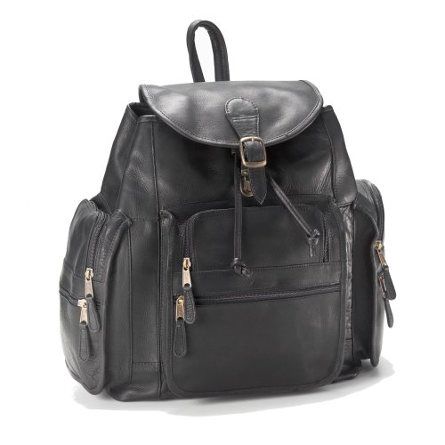 Clava XL Leather Backpack – Backpack – Leather – Vachetta Black – Vachetta Black