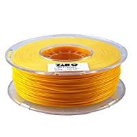 ZIRO 3D Printer Filament PLA 1.75 1KG(2.2lbs), Dimensional Accuracy +/- 0.05mm, Orange by ZIRO