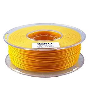 ZIRO 3D Printer Filament PLA 1.75 1KG(2.2lbs), Dimensional Accuracy +/- 0.05mm, Orange by ZIRO