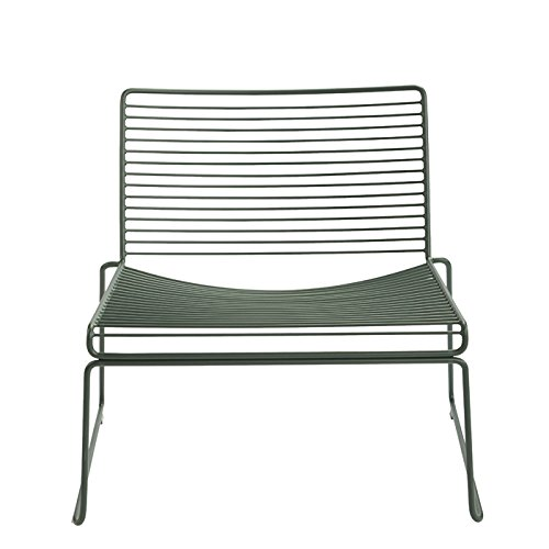 Hee Lounge Stuhl Racing Green Hay Design