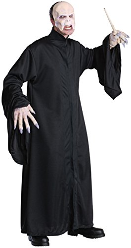 Harry Potter Adult Voldemort Robe, Black, One Size
