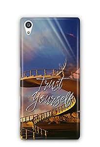 YuBingo Trust Yourself Designer Mobile Case Back Cover for Sony Xperia Z5 Plus