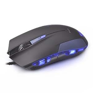 E-3lue Cobra EMS109BL USB 2.0 Gaming Mouse, Blue