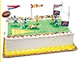 14piece Football Party Complete Birthday Party Cake Decoration Topper Kit