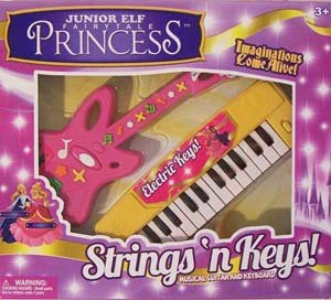 Girls Junior Elf Fairytale Princess Strings N Keys