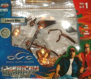 Buy American Choppers The Series OCC Liberty Bike 1:18 Scale