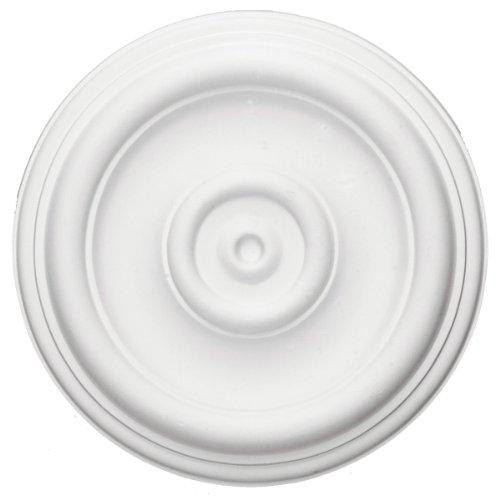 Ekena Millwork CM12TR 12-Inch OD x 3-Inch ID x 1-Inch Traditional Ceiling Medallion