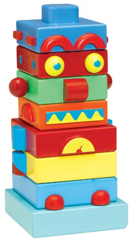 Basic Fun David Kirk Stacking Robot