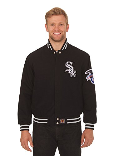 White sox leather jacket